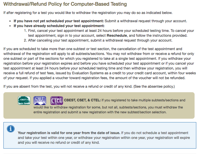 How To Register and Sign-Up For The CBEST – Support Center